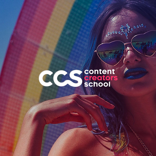 Branding, Diseño de página web y redacción de contenidos del blog para una escuela de marketing de contenidos en Barcelona