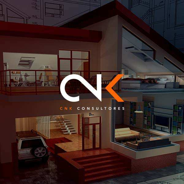 Diseño de imagen corporativa, logotipo y diseño web para CNK Consultores in Colombia