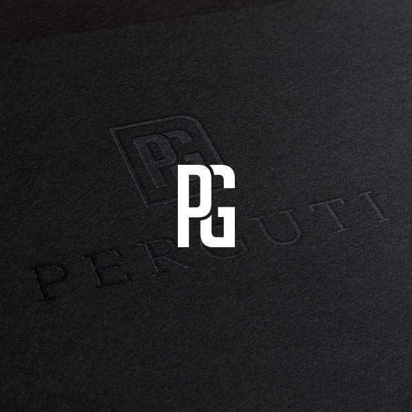 Logotipo Perguti Colombia diseñado por ShockDC y Movidagrafica