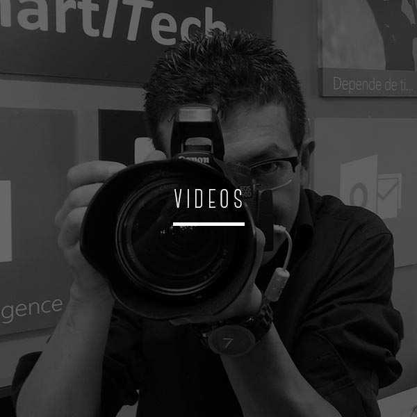 Muestras de nuestro trabajo de producción audiovisual